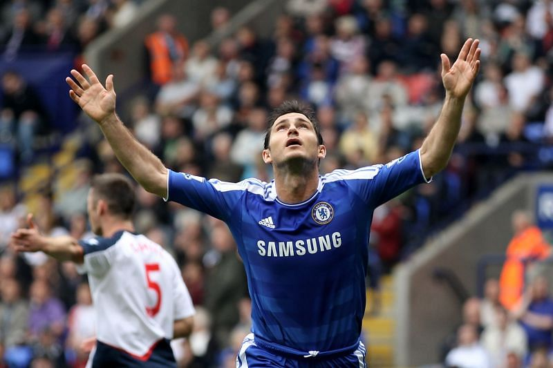 Frank Lampard is one of the best midfielders in the history of the Premier League