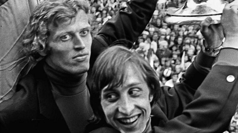 Piet Keizer and Johan Cruyff