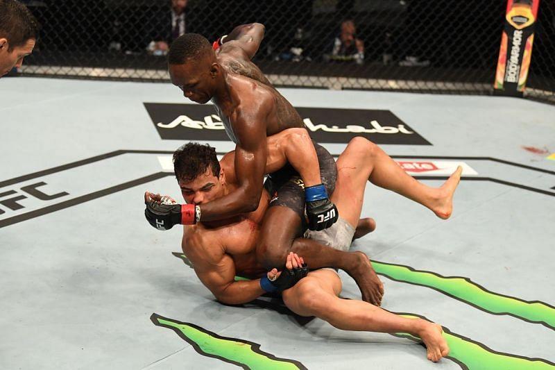 Israel Adesanya finishes Paulo Costa at UFC 253
