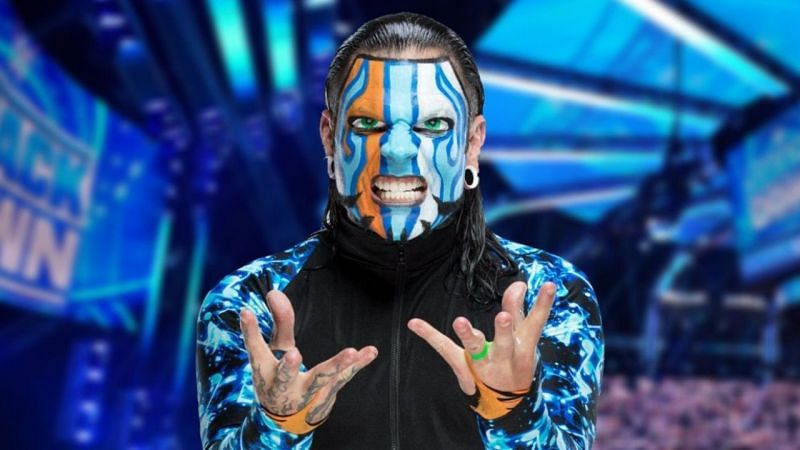 What is Jeff Hardy's WWE contractual status?