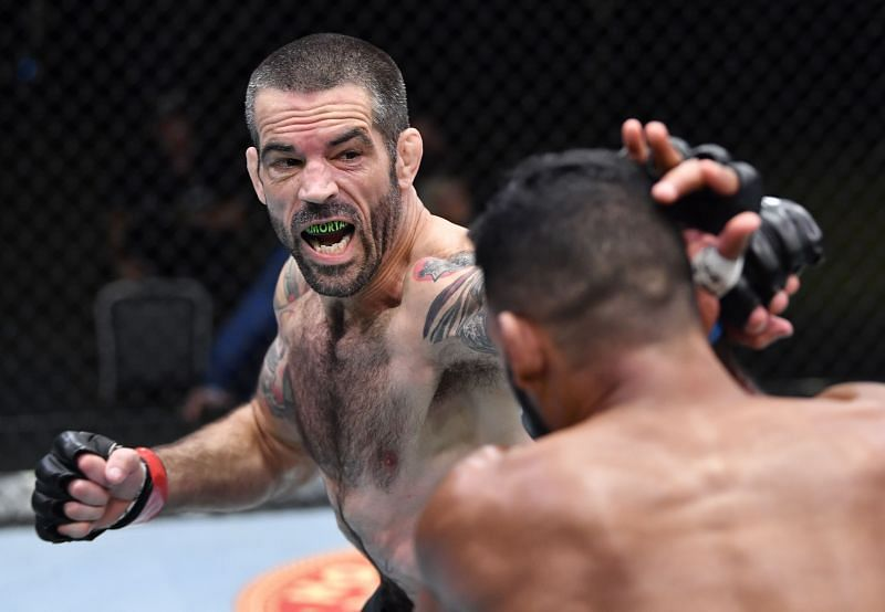 Matt Brown was responsible for one of UFC Vegas 29's most explosive moments