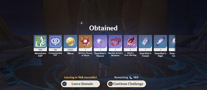 Genshin Impact leaks hint at an artifact-exchange feature. (image via Genshin Impact)
