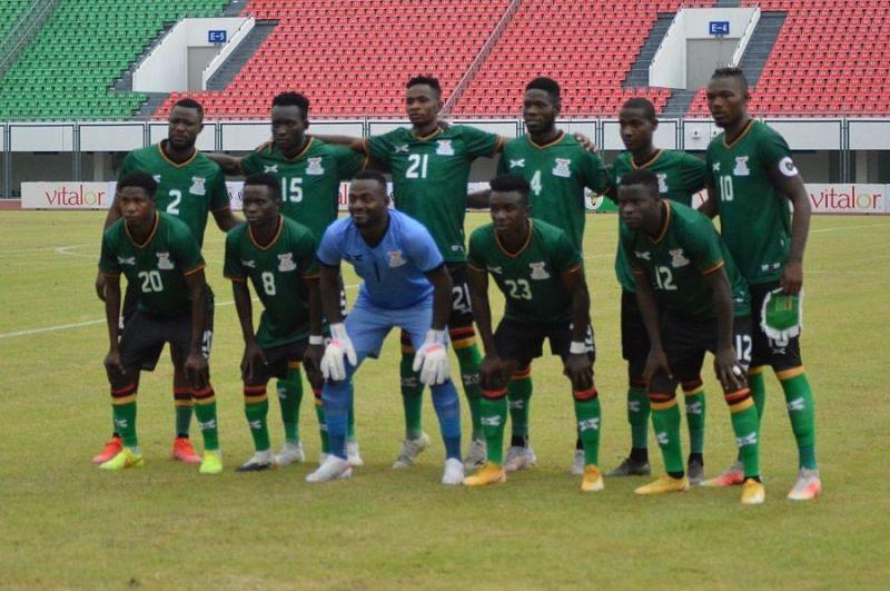 Zambia will take on Sudan in a friendly; photo credit: @FAZfootball Twitter
