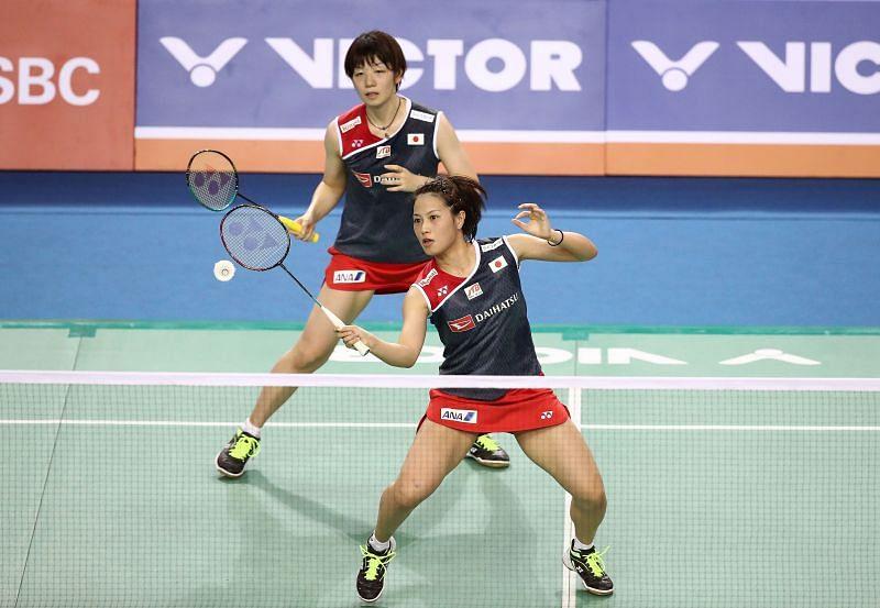 Yuki Fukushima (R) & Sayaka Hirota - one of the biggest contenders for the Tokyo Olympics WD gold