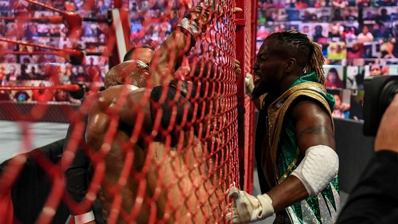 Bobby Lashley brutalized Xavier Woods to send a message to Kofi Kingston