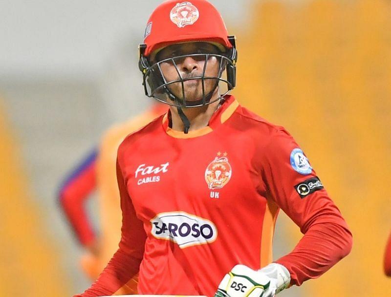 Usman Khawaja. Pic: PSL