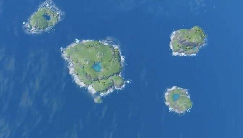 Archipelago overhead view (image via Dimbreath)