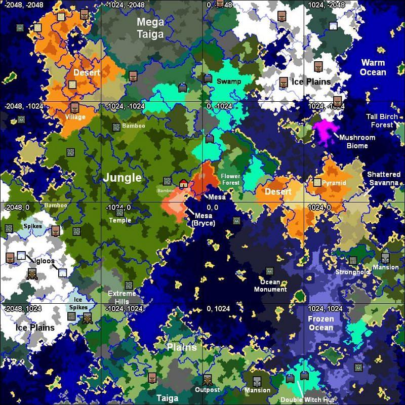 Seed map (Image via u/Plebian on Reddit)