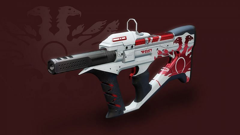 The Destiny 2 sunsetted crucible ritual void weapon, The Recluse (Image via Bungie)