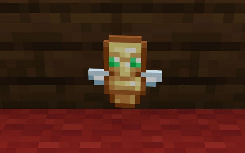 Totem of Undying (Image via Minecraft)