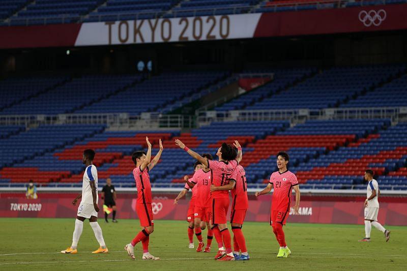 Korea Republic U23 face Mexico U23 in quarterfinals of the Tokyo Olympic men's football on Saturday