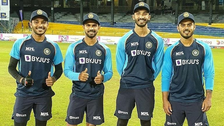 Four players made their debut for India in the 2nd T20I.