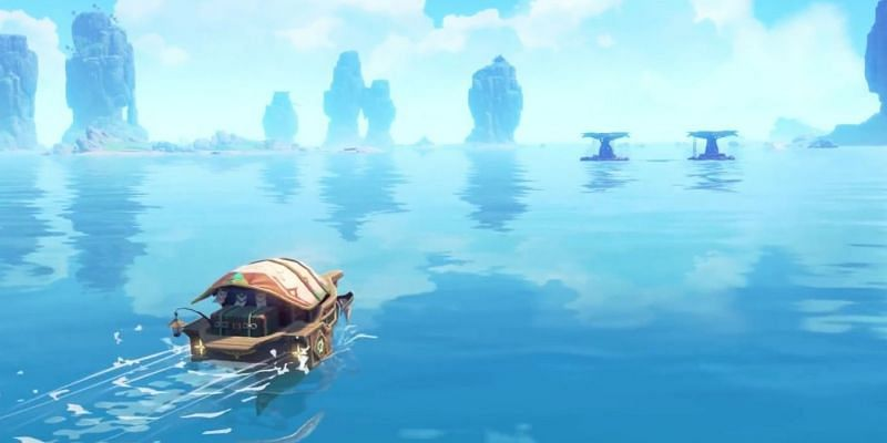 The Boat is going to stay during Genshin Impact 2.0 (Image via miHoYo)