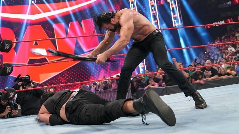 पूर्व WWE चैंपियन ड्र मैकइंटायर ने मचाया बवाल