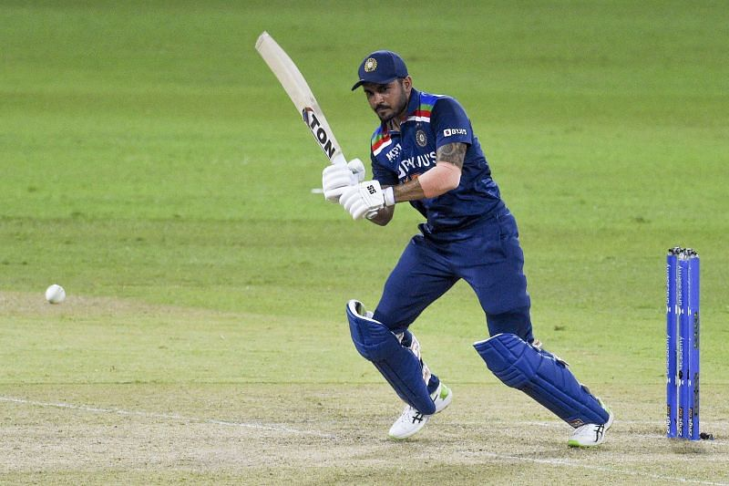 Manish Pandey during the India-Sri Lanka series. (PC: ICC)