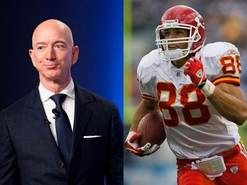 Jeff Bezos and Former NFL TE Tony Gonzalez
