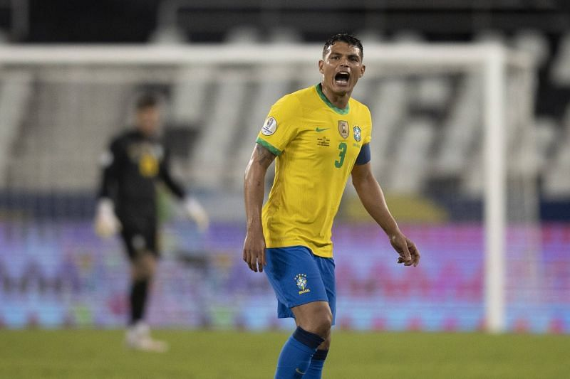Silva is looking to captain Brazil to consecutive Copa America titles.
