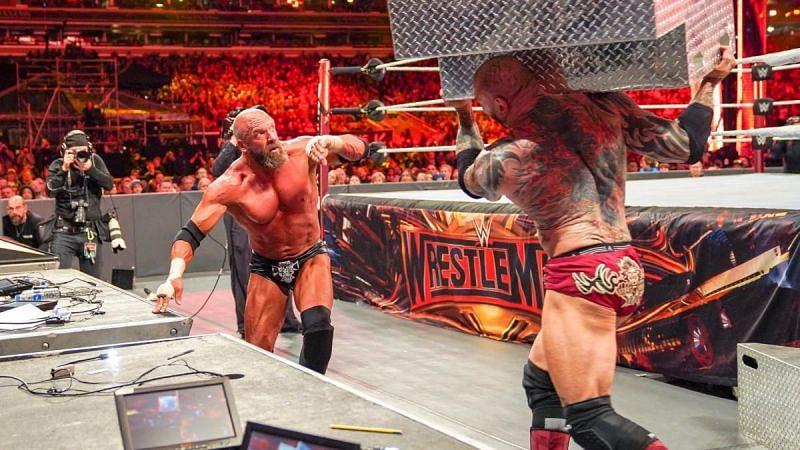 Triple H vs. Batista at WrestleMania 35
