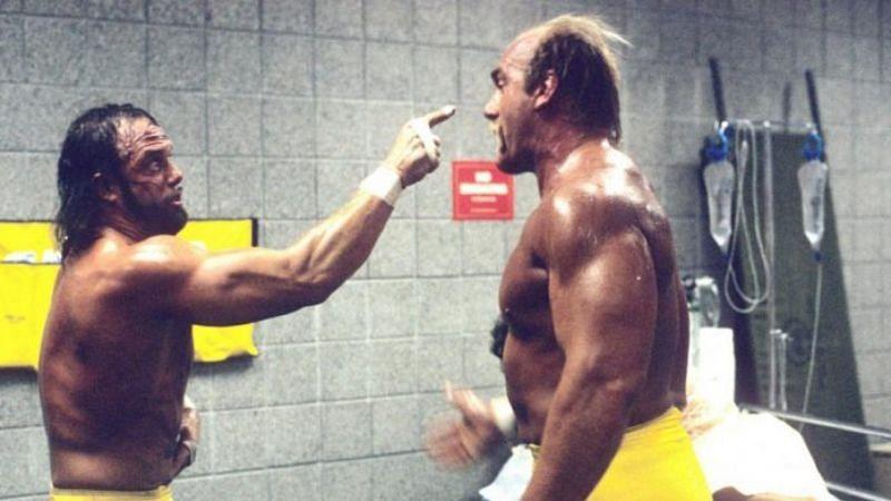 Macho Man Randy Savage and Hulk Hogan