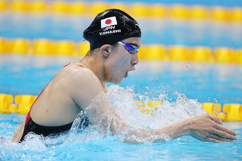 Yui Ohashi wins the gold medal in women's 400m individual medley finals at Tokyo Olympics 2020