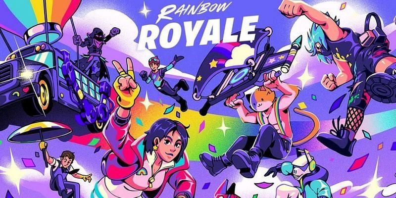 Fortnite Rainbow Royale. Image via Hypebeast