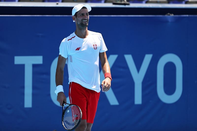 Novak Djokovic is looking for his first Olympic gold medal