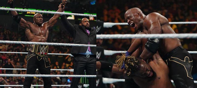 WWE चैंपियनशिप मैच में बॉबी लैश्ले को एक बड़ी जीत मिली