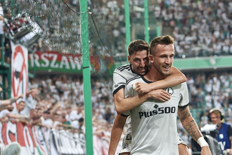 Legia Warsaw take on FC Flora this week