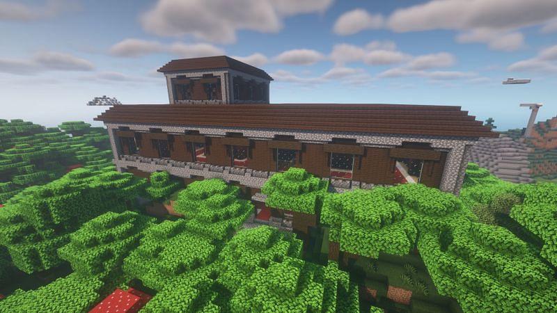 Woodland mansion (Image via Minecraft)