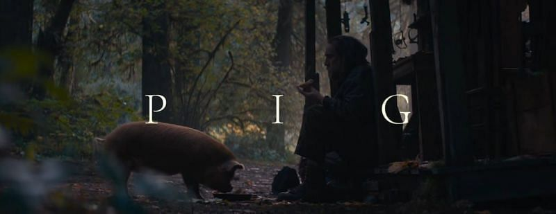 Pig was released on July 16, 2021, in the USA and Canada (Image via Neon/YT)