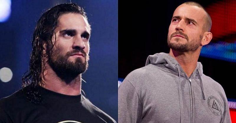 Seth Rollins versus CM Punk could