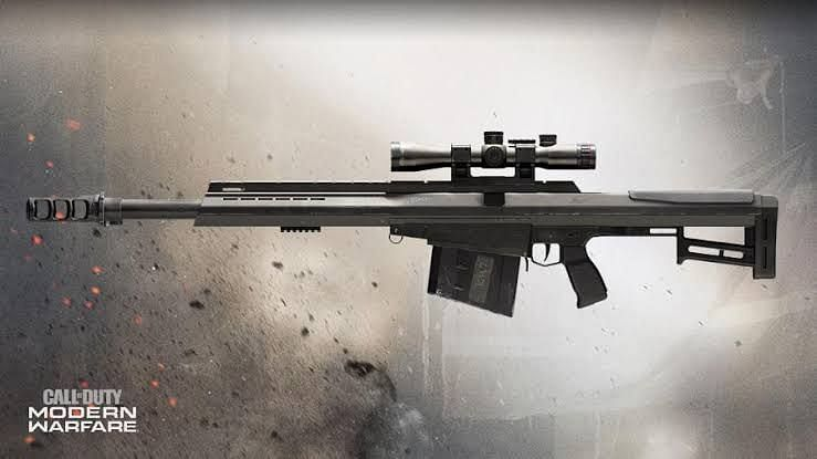 Rytec AMR from Modern Warfare is coming to COD Mobile in Season 6 (Image via Call of Duty)