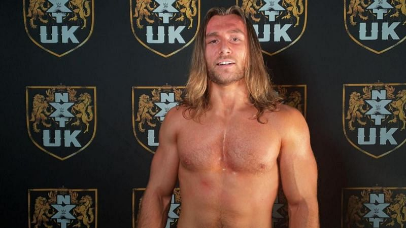 Nathan Frazer in WWE