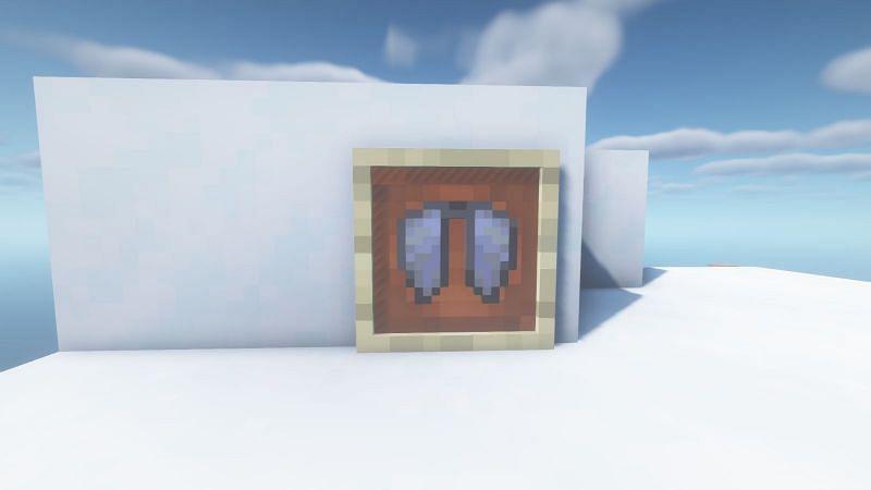 The Elytra in Minecraft (Image via Minecraft)