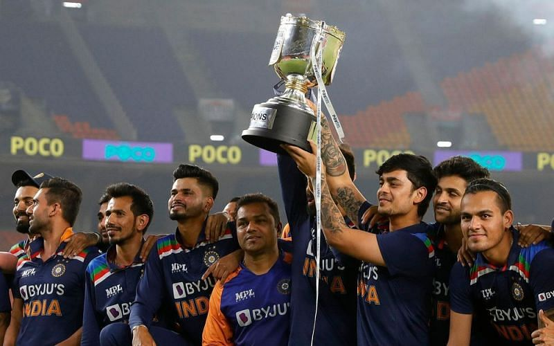 India is one of the favorites to win the ICC T20 World Cup (Image Courtesy: BCCI)