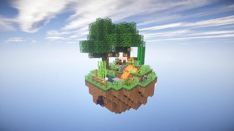 The primary means for players to acquire diamonds will be to trade with villagers (Image via Mojang)