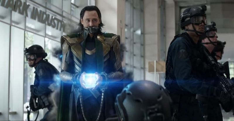 God of Mischief escape with Tesseract in the initial minutes of the series (Image via Marvel)