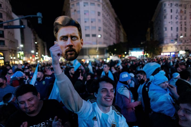 The streets of Argentina erupted with celebrations following its first Copa America title since 1993