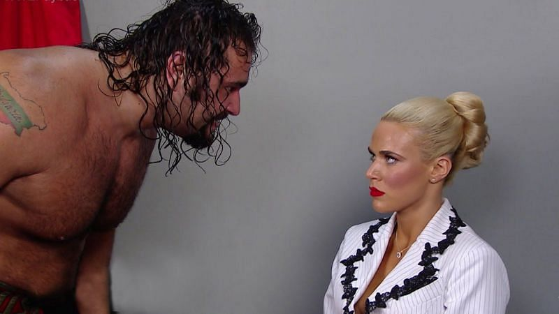 Rusev and Lana in 2015