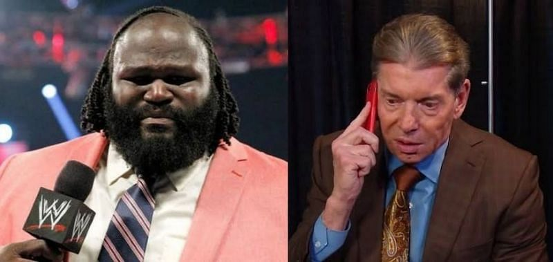 Mark Henry and Vince McMahon