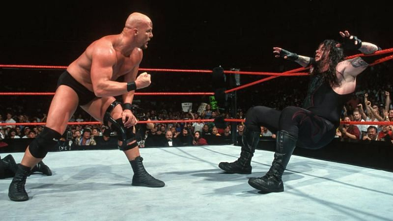 The Undertaker and Steve Austin in WWE