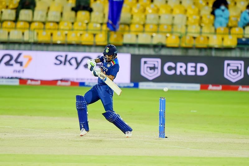 Shikhar Dhawan will captain the visitors in the India vs Sri Lanka T20I series (Image Source: Twitter)