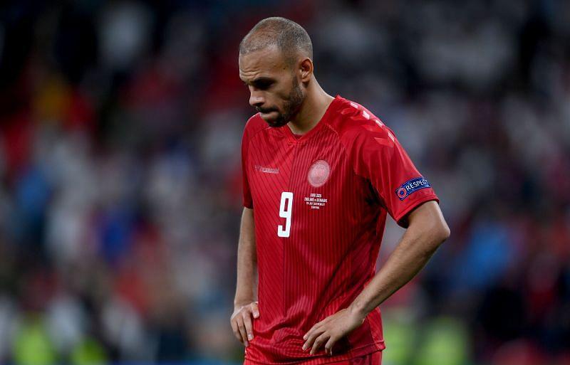 Braithwaite starred for Denmark at Euro 2020.