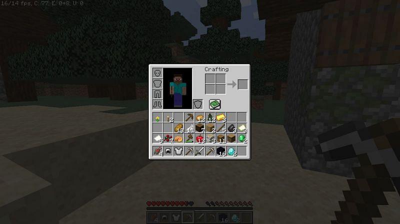 Loot found from structures close to spawn (Image via u/revlipoki)