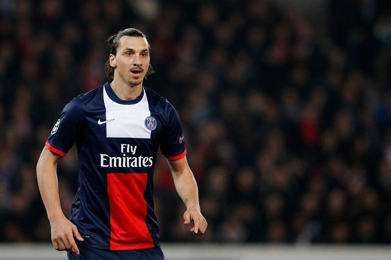Zlatan Ibrahimovic at PSG