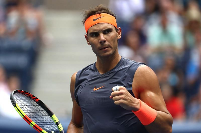 Rafael Nadal at the 2018 US Open in New York City