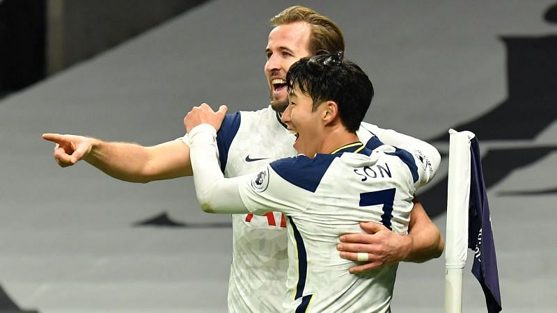 Kane and Son broke the record for most combined goals in a single season