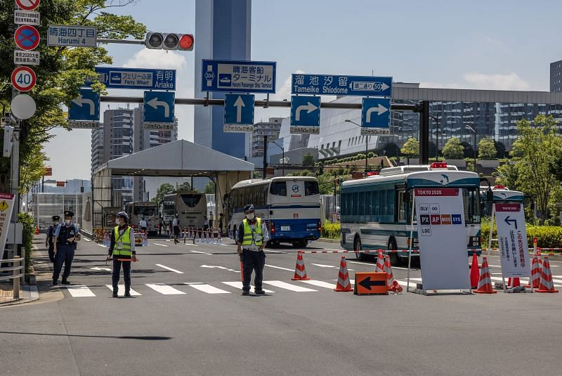 The Tokyo Olympics Games Village is a fortress