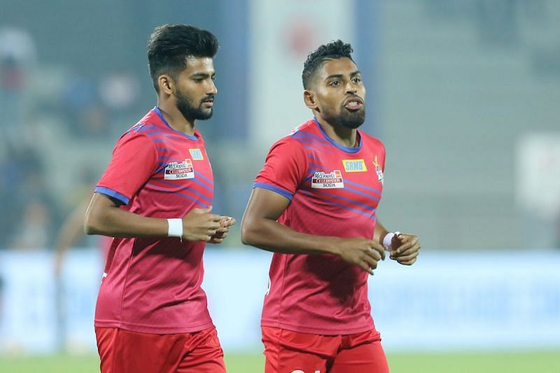 Jayesh Rane (left) will now be seen in Bengaluru FC's colors
