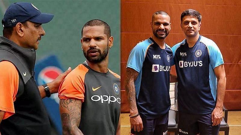 रवि शास्त्री और राहुल द्रविड़ इस वक्त दो अलग-अलग टीमों के कोच हैं